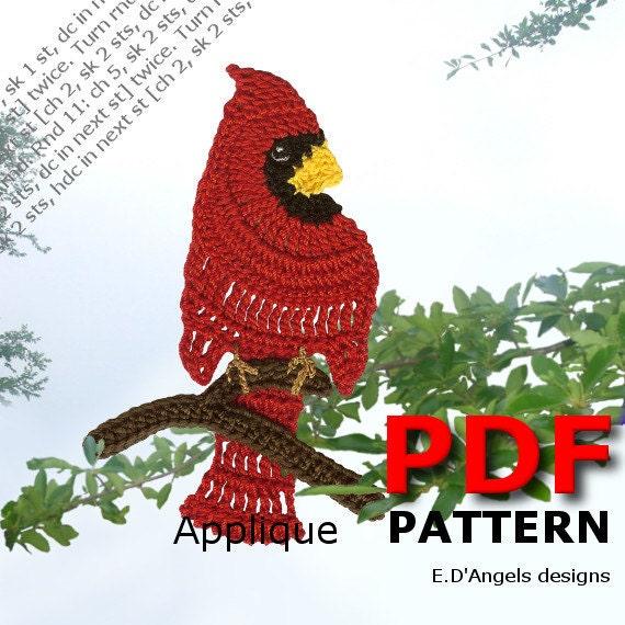 Crochet Crochet Pattern Applique Pattern Crochet