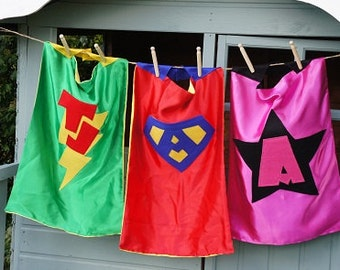Custom Made Superhero cape