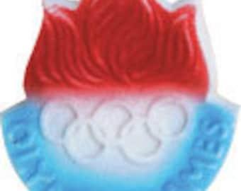 Edible Olympic Medallion Sugar Decorations        Simply Darling