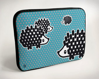 Hedgehog - Laptop Case - Laptop Bag - Laptop Sleeve