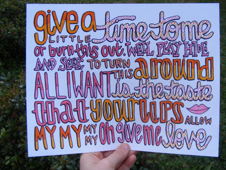 ed sheeran lyric drawings - photo #13
