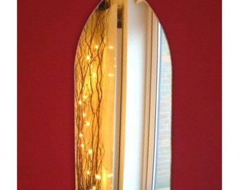 Gothic Arch Mirrors - Pack of Two Mirrors 45cm x 20.5cm each