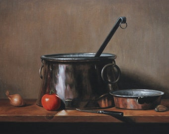 Still life with cookware