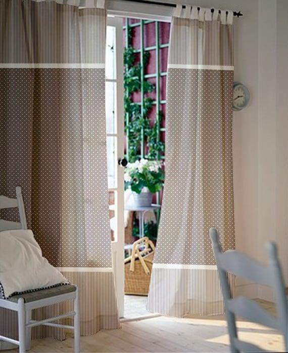 Window Curtains Nursery Kids Pair Of
