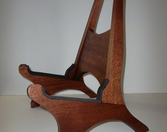 African Sapele Acoustic Guitar Stand