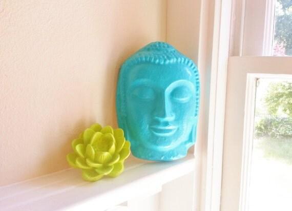 Buddha sculpture, lotus flower, gift set, incense holder, wall hanging Buddha gift set