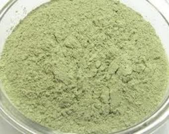 French Green Clay Powder 16 Oz and Kelp Powder 16 Oz For facials or Soap Making