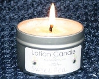 Soy Lotion Candle-4 oz Tin