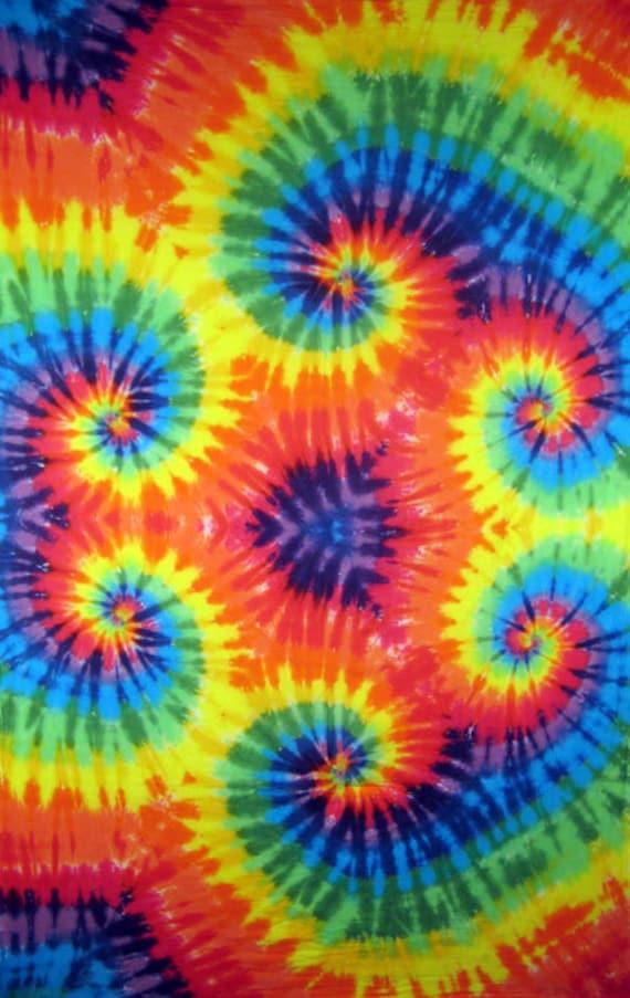 tie dye 8 x 10 edible image frosting sheet