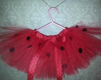 Ladybug tutu skirt