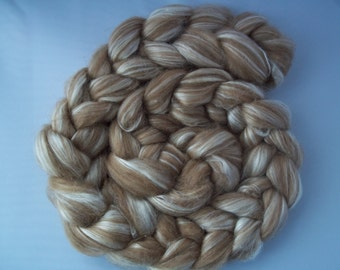 Baby Camel, Silk, Spinning Fiber, Top/ Roving, 100g / 3.5oz