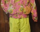 Vintage Bogner Fire & Ice Snowboard Suit