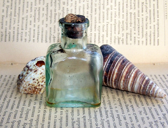 Items similar to old glass bottle for medicine laboratory for Uses for old glass bottles
