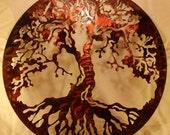 """16"""" Tree of Life Metal Wall Art Home Decor"""