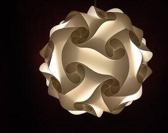 Custom made puzzle lamps size medium