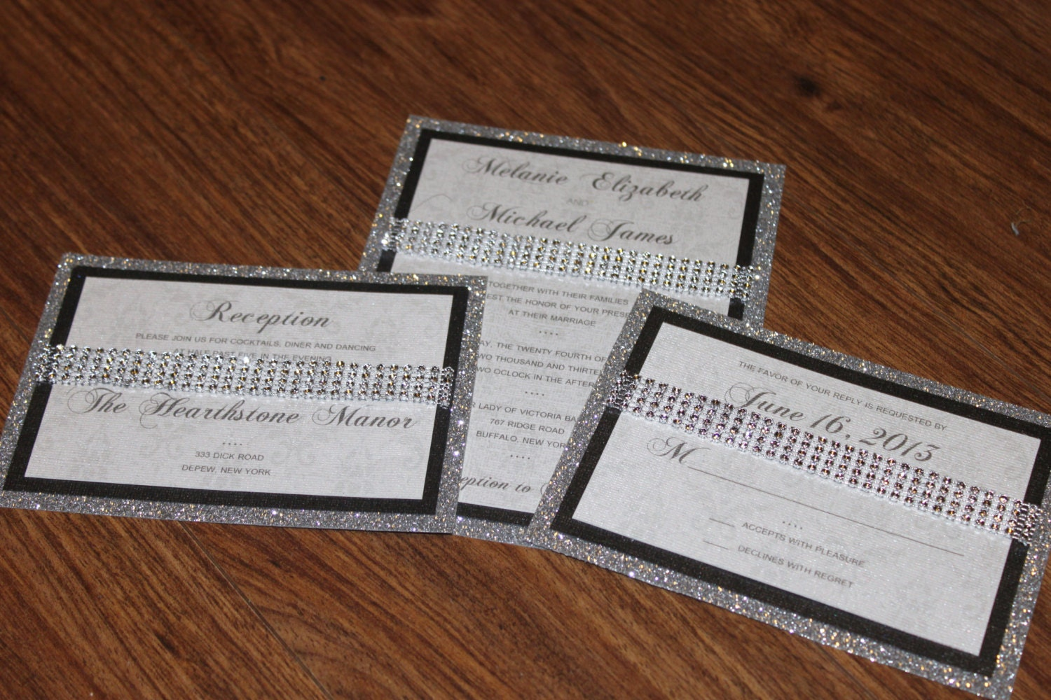Bling Wedding Invitations: Your Place To Buy And Sell All Things Handmade