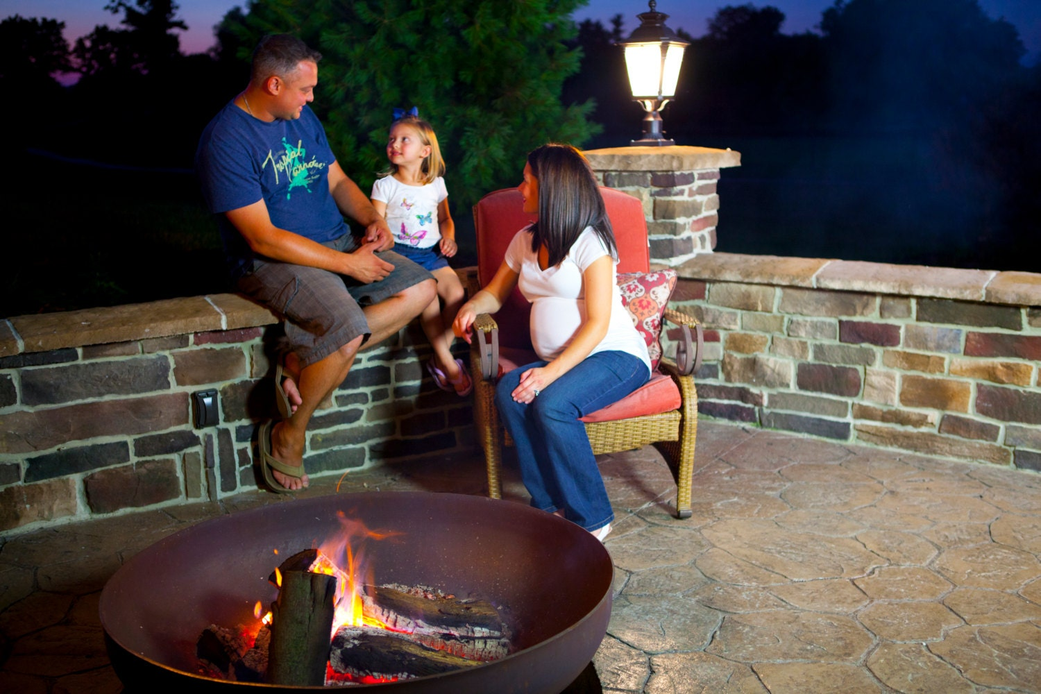 Ohio Flame 48 Patriot Fire Pit Made In The Usa