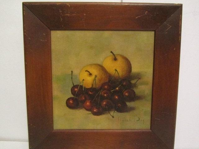 Hank Bog Prints 1950 Artmid Century Paintingfruit Still