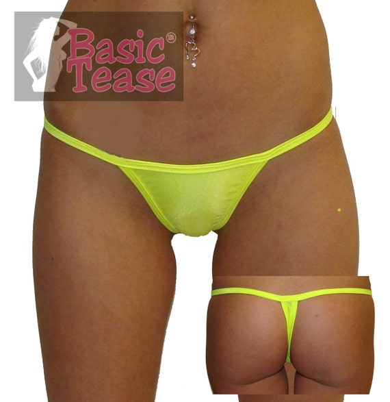 Thong / Wide Front Low Rise Stripper Thong / Exotic Dance Wear / Full Coverage Micro Thongs / Exotic Dancer / Stripper Clothes / Stripper