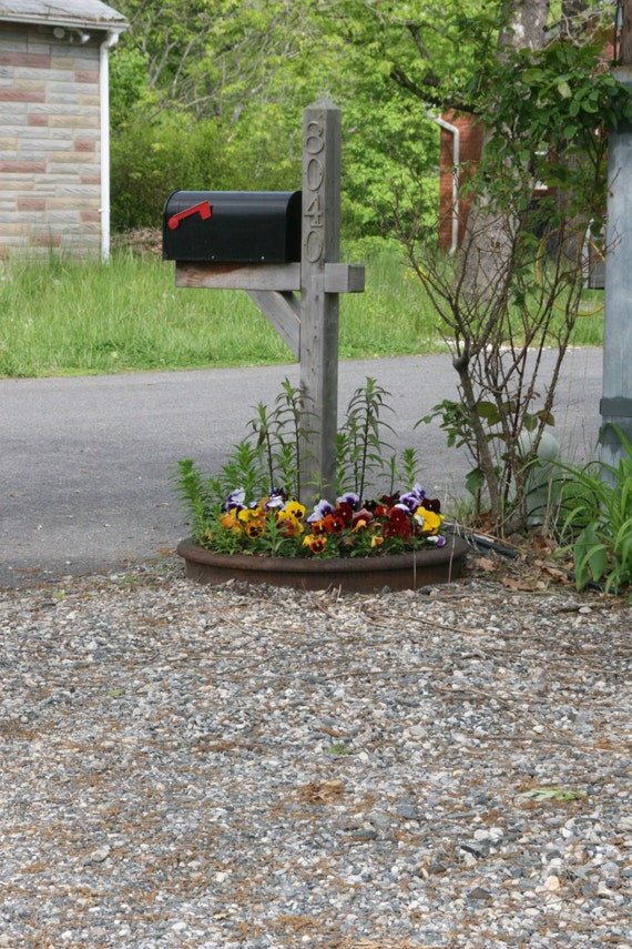 Railroad Wheel Flower Bed or Fire Ring