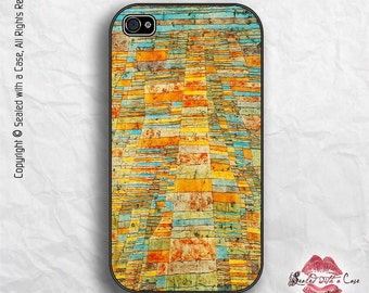 "Paul Klee Painting ""Highway and Byways"" - iPhone 4/4S 5/5S/5C/6/6+ and now iPhone 7 cases!! And Samsung Galaxy S3/S4/S5/S6/S7"