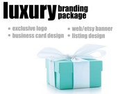 Luxury Branding Package - Custom Logo, Business Card Design, Etsy Banner and Listing Design by STONESOUP DESIGN