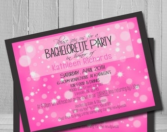 Customize a Bachelorette Invitation