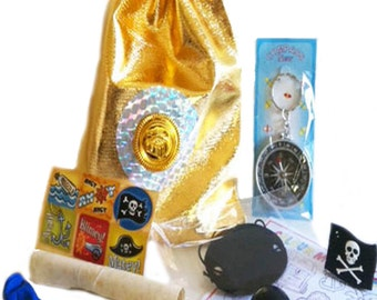 Pirate Party Bag - 10 items included in bag
