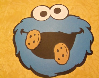 Cookie Monster Game - Birthday- Party - Baby Shower