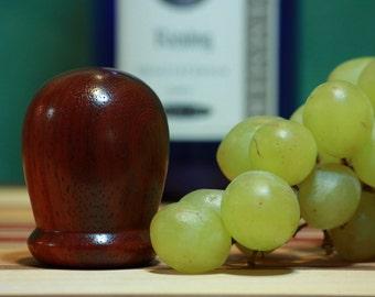 Padauk Wood Wine Bottle Stopper