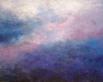 "Original textured abstract painting ""Tumult"""