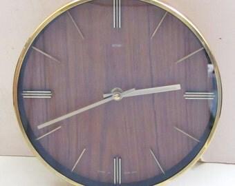 1970s Metamec Vintage Clock