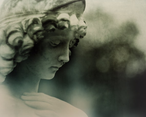 items similar to angel statue photography victorian