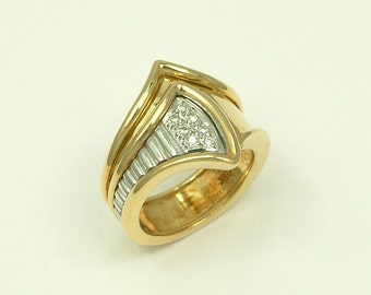 Gold 18k Ring with Brilliants