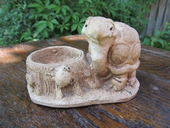 Wood Turtle Planter images