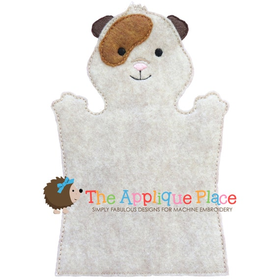 Items similar to guinea pig hand and finger puppet in the