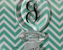 Personalized Wine Stopper - Acrylic Wine Stop
