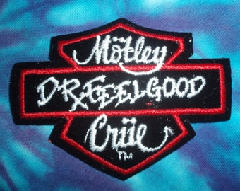 Motley Crue - Dr Feelgood - Patch - Collectible