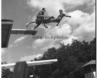 stunt diving 1948 - SS-026