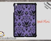iPad Mini Case - Haunted Mansion Stetching Room Wallpaper - iPad Mini Plastic Case