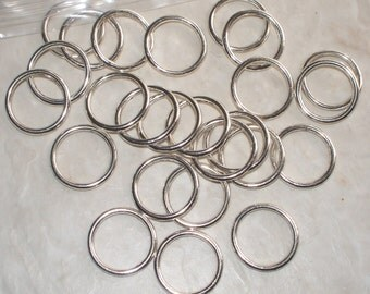 Silver Solid Rings - 12MM