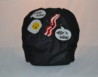 Wakey Wakey Eggs and Bakey-OS Pocket Diaper