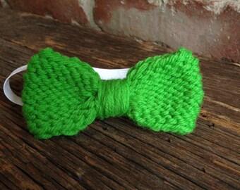 Green boy bowtie/ Go Green bowtie