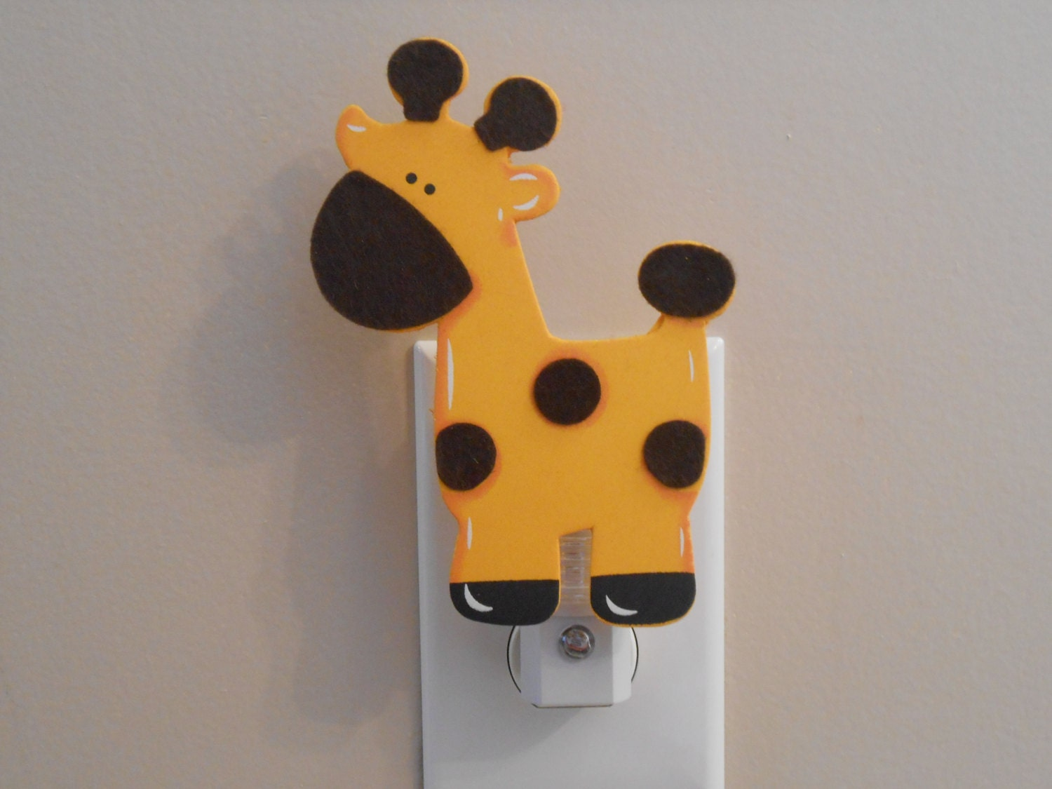 Giraffe Night Light Baby Nursery Giraffe Boy Nursery