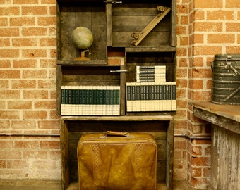 MODEL PICASSO : The Vintage Rustic Crate Collection Shelf