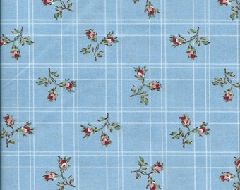 Maywood Studio Cottage Romance Blue 2148B Sold by yd