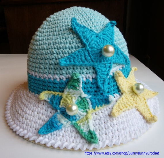 Crochet Baby Marine Hat Pattern : CROCHET CHILDREN PATTERNS Crochet Hat Hat Pattern Starfish