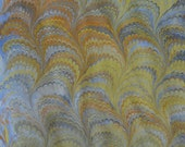"Hand-marbled ""Swirl"" paper"