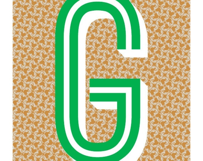 The Letter G, Too