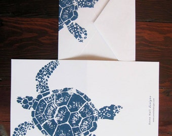 TURTLE Note Cards (set of 6)